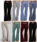 1X 2X 3X Chatoyant Mineral Wash Bell Pants Plus Sizes Many Colors