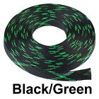 ALL SIZES & COLORS 5 FT - 100 FT. Expandable Cable Sleeving Braided Tubing LOT