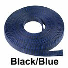 ALL SIZES & COLORS 5 FT - 100 FT. Expandable Cable Sleeving Braided Tubing LOT <br/> CHOOSE COLOR, SIZE & LENGTH USA SELLER  PET FLEX SLEEVE