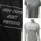 Women Letter Printed T shirt Casual Cotton Blouse Funny Short sleeve Tops