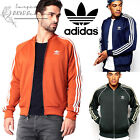 adidas Originals Superstar Men's Tracksuit Jacket Sports Track Gym Trefoil Top