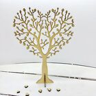 HEART Trees with ROOTS or Freestanding - 4mm MDF Crafting - Perfect Box Frames