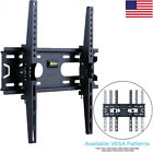 Flat TV Wall Mount Bracket 15° Tilt Swivel For 26 29 32 37 40 42 47 48 50 inch