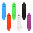 "3Style® Skateboards - 22"" Tailor Made Mini-Cruiser - Retro Plastic Board"