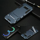 Shockproof Bumper Armor Luxury Case Cover Kickstand For Samsung Galaxy S8 Plus