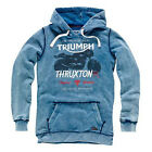 Triumph Kentville Mens Hoodie - Retro Thruxton Cafe Racer Bonneville $68.0 USD