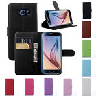 Samsung Galaxy S7 / S7 Edge Flip Leather Wallet Stand Case Cover