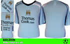 *08 / 09 - LE COQ SPORTI ; MANCHESTER CITY  HOME SHIRT SS / PERSONALIZED = SIZE*