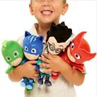 4pcs Hot PJ Masks Gekko Catboy Owlette Romeo Plush Doll Toys Stuffed Soft Kids