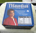 TV Guardian Foul Language Filter Model 301 w  Power Supply,  Cables,  Manual,  Box
