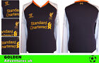 *12 / 13 - WARRIOR ; LIVERPOOL 3RD SHIRT LS / PERSONALISED = SIZE*