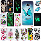 Fashion Ultra Slim Glow Soft TPU Rubber Gel Luminous Back Case Cover For Phone