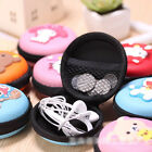 Unisex Coin Purse Women Round Zipper Coins Bag Jewelry Wallet Pouch Lovely