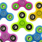 Glow In The Dark Fidget Spinner Anti Anxiety Stress Reliever Super Tri-Spinner