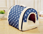Pet Kennel Super Soft Dog Bed House Mat Pad Warm Washable Puppy Cat Cushion