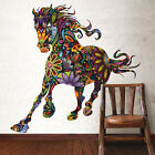 Colorful Animal Horse Wall Sticker Vinyl Decal Art Mural Home Decor Vintage