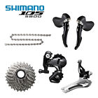 New Shimano 105 5800 Road Groupset 5pcs Shift Front Rear Derailleur Cassette