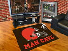 Cleveland Browns Man Cave Area Rug Choose 4 Sizes