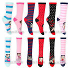 Womens Betty Boop Character Socks Size 4-7 1 Pair or Lot of 4 Pairs Assorted $9.84 USD