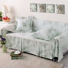 Canvas 100% Cotton Slipcover Sofa Cover oAUl for 1 2 3 4 seater Floral xhyr