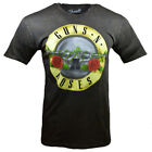 Mens T Shirt Guns N Roses Music Vintage Rock Look Full Color Graphic Band Brown image