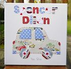 CAR CANVAS BOYS BEDROOM WALL PICTURE CATH KIDSTON GIFT CARS NURSERY DECORATION
