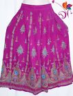Indian Long Sequin Skirt Boho Bollywood Belly Dance Hippie Gypsy More colors