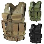 Condor Hunting LE SWAT ETV Elite Tactical Vest w/ Magazine Pouch & Tactical Belt