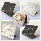 """White/ Black Marble Painted Hard Case Cover for MacBook 12"""" Air Pro 11"""" 13"""" 15"""""""