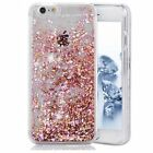 For iPhone X 5s 6 7 8P Bling Liquid Quicksand Glitter Diamond Water Sparkly Case