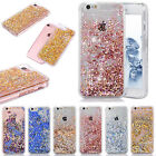 For Iphone X 5s 6 7 8 Bling Liquid Quicksand Glitter Diamond Water Sparkly Case