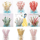 Birthday Party Drinking Paper Straws Wedding Bachelorette Party Decor Supplies