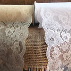 """6"""" wide x 10 yards Floral Pattern Lace Chantilly trim for bridal Ribbon - Choose"""