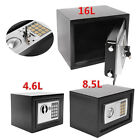 Digital Steel Safe Electronic Security Office Home Money Cash Safety Box 3 Sizes