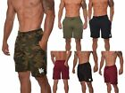 Mens Workout Athletic Gym Everyday Shorts Running Pockets Workout Fitness Cotton