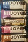 FITJOY Protein Bar 20g of GMO & Gluten Free Protein choice of flavors NEW SEALED