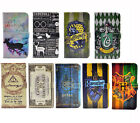 Harry Potter Leather Wallet Card Flip Case Cover For Samsung Galaxy S8 Plus S8+