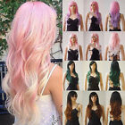 Synthetic Hair Costume Wig Real Natural Ombre Two Tone Wigs Soft AS Remy Hair ##