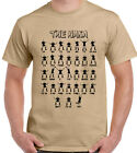 The Haka New Zealand All Blacks - Mens Funny Rugby T-Shirt Hakka Rugby World Cup