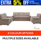 New Microfibre Fabric Sofa Lounge 6 Seater Single Set Couch Setting Chair