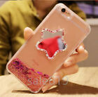 Bling Crystal Mirror Glitter Stars Water Liquid Diamond Case Cover For Phones