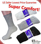 3,6,12 Pairs Diabetic Crew Circulatory Socks Health Mens Cotton 9-11 10-13 13-15 $6.88 USD on eBay