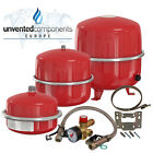 Flamco Cubex Expansion Vessels 8,12,18,25 and 35 litre System Sealed Kit Bracket
