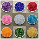 Lot 100x 6mm 8mm 20 Colors Pearl Spacer Beads Craft Abs Plastic Loose Beads Diy