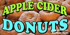 (CHOOSE YOUR SIZE) Apple Cider Donuts DECAL Concession Food Truck Vinyl Sticker