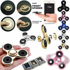NEW ALLOY LOT HAND SPINNER TRI FIDGET STEEL BALL TOY EDC FINGER GYRO KIDS ADULT фото