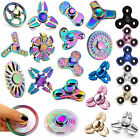 NEW ALLOY LOT HAND SPINNER TRI FIDGET STEEL BALL TOY EDC FINGER GYRO KIDS ADULT