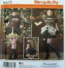 Simplicity Sewing Pattern 8075 Ladies 14-22 Steampunk Vest Dress Cosplay Costume