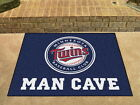 Minnesota Twins Man Cave Area Rug Choose from 4 Sizes