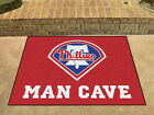 Philadelphia Phillies Man Cave Area Rug Choose from 4 Sizes